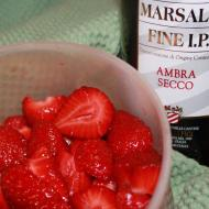 mmmh, erdbeeren mit marsala